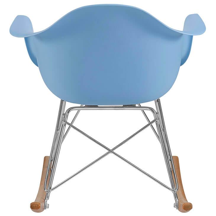 kids blue rocking chair 5