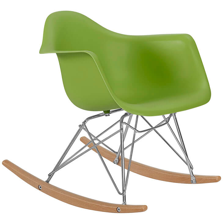 kids green rocking chair 2