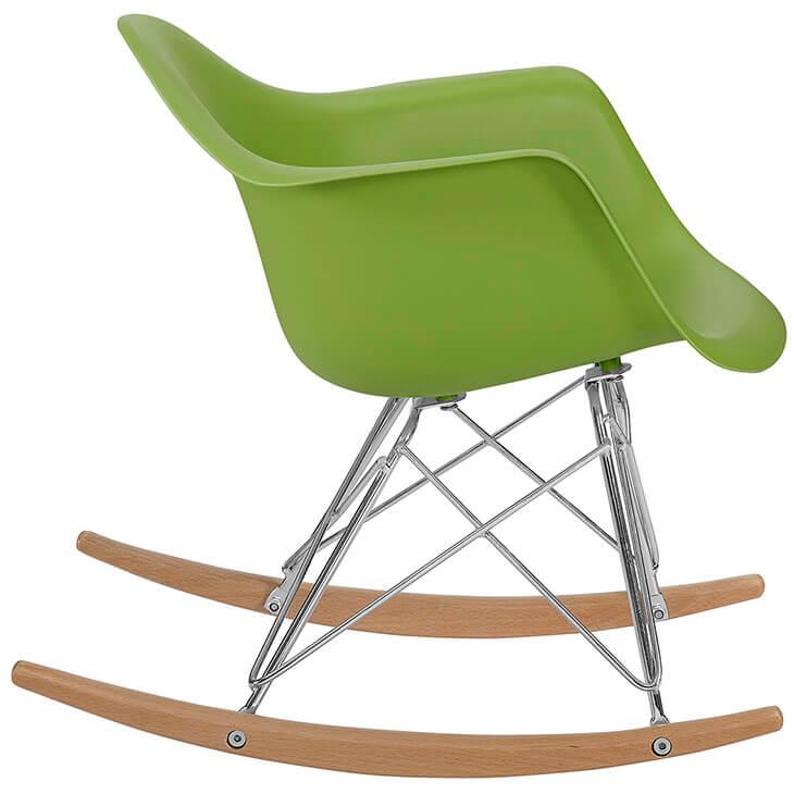kids green rocking chair 3