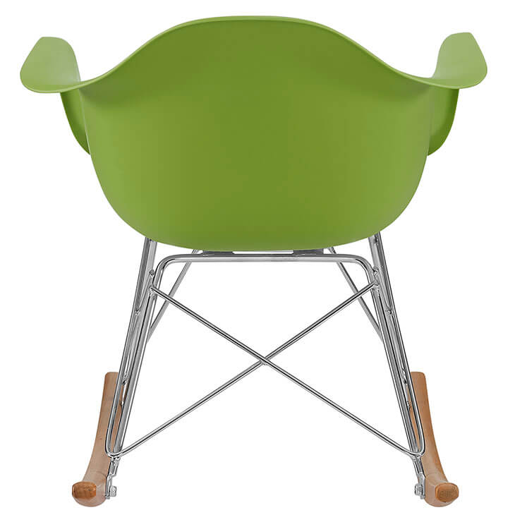 kids green rocking chair 4