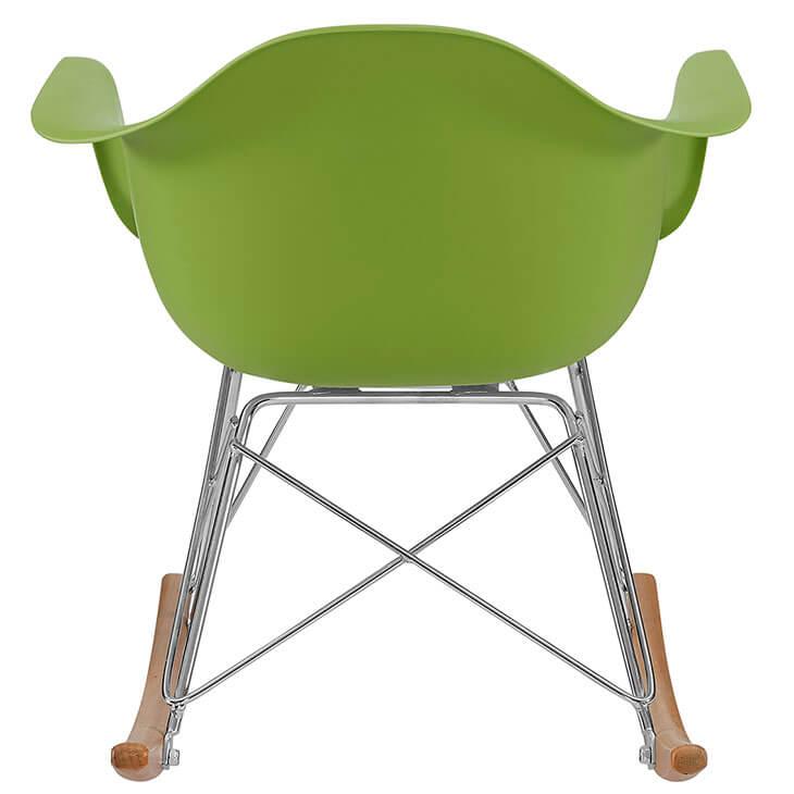 kids green rocking chair 4