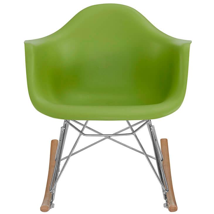 kids green rocking chair
