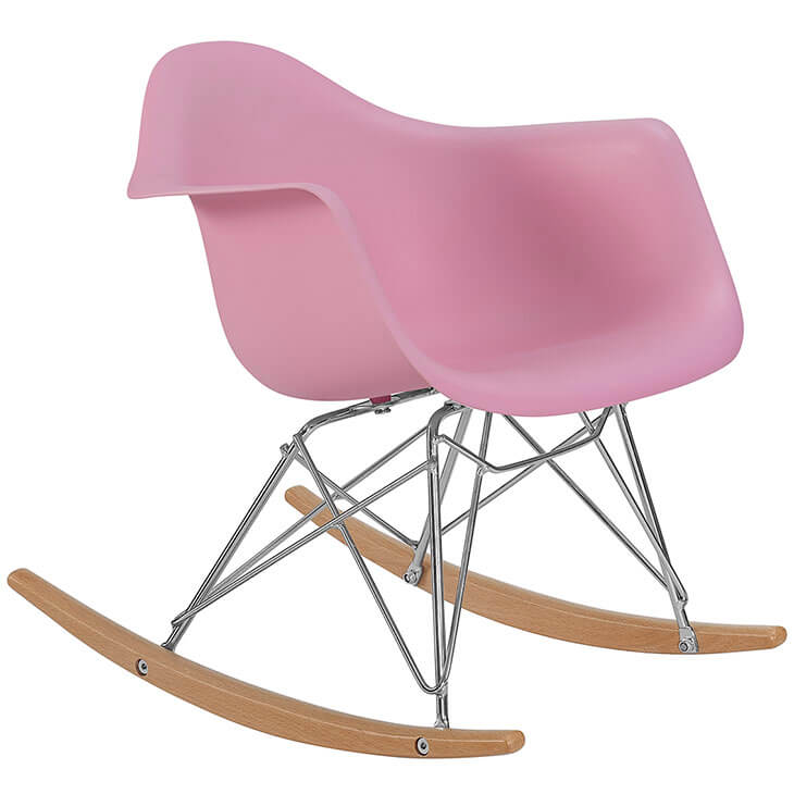 kids pink rocking chair 2