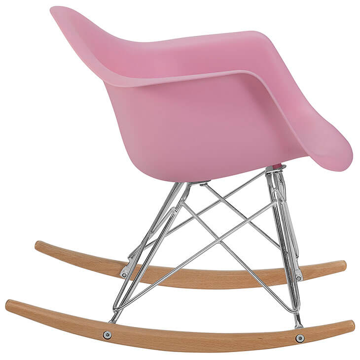 kids pink rocking chair 3