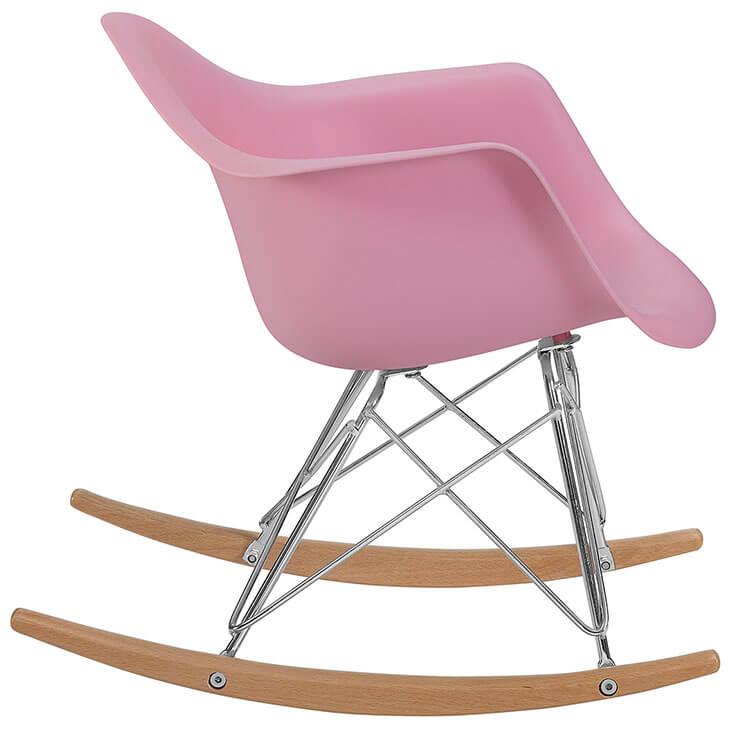kids pink rocking chair 3