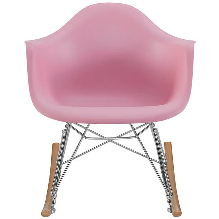 kids pink rocking chair 5