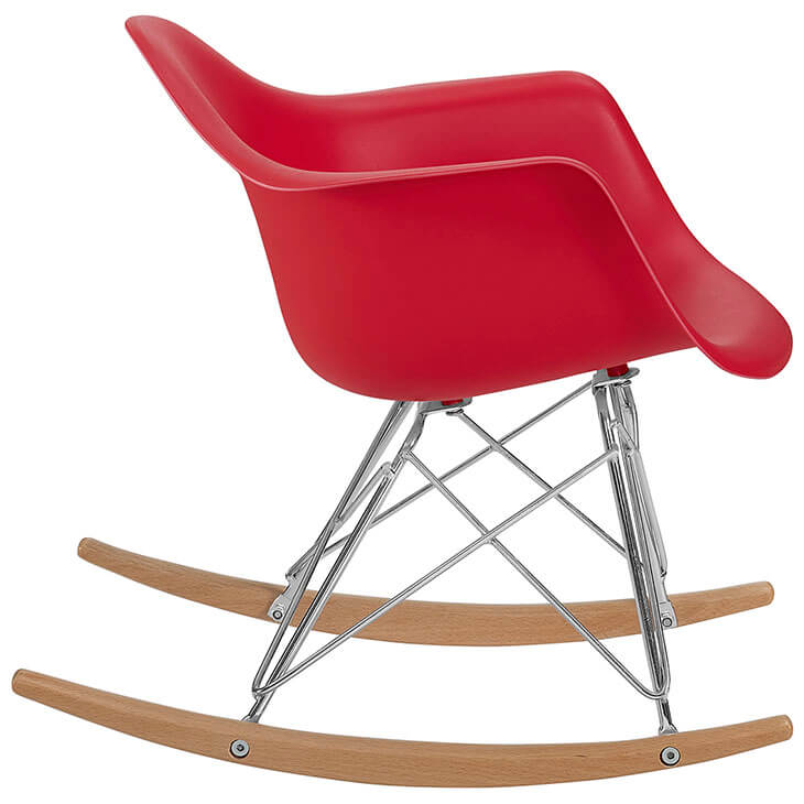 kids red rocking chair 3