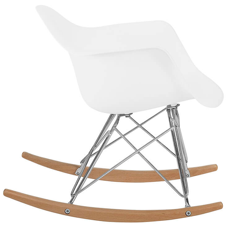 kids white rocking chair 3