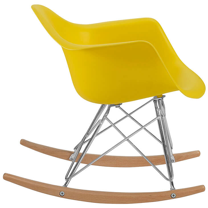 kids yellow rocking chair 3