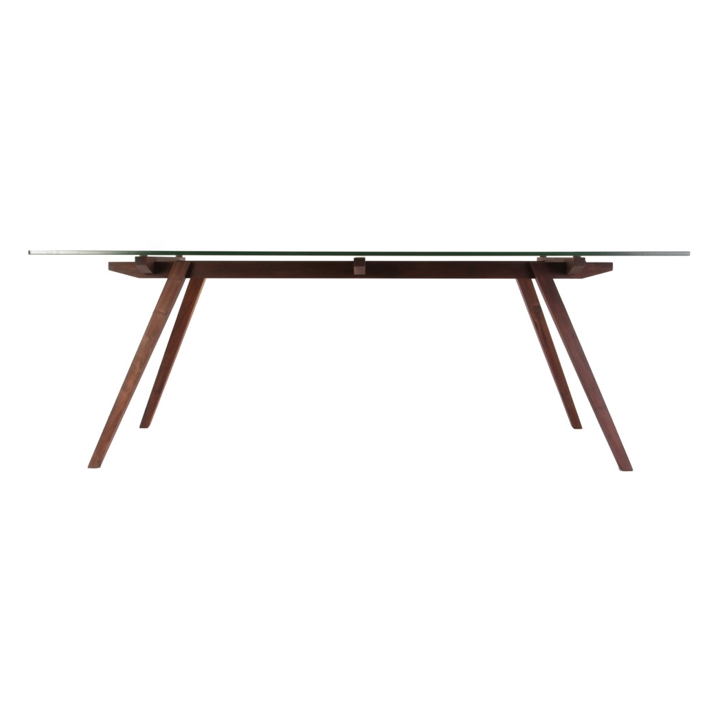 stockholm walnut wood dining table 3