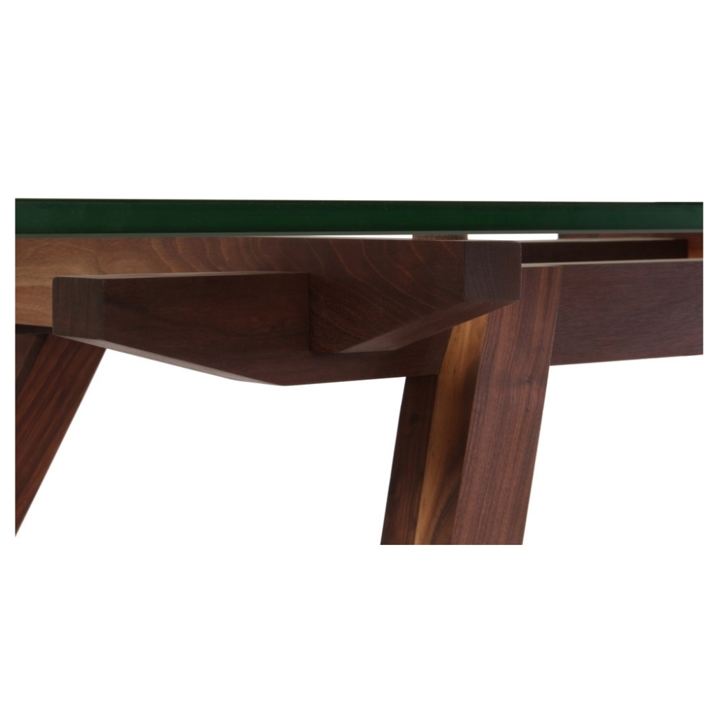 stockholm walnut wood dining table 4