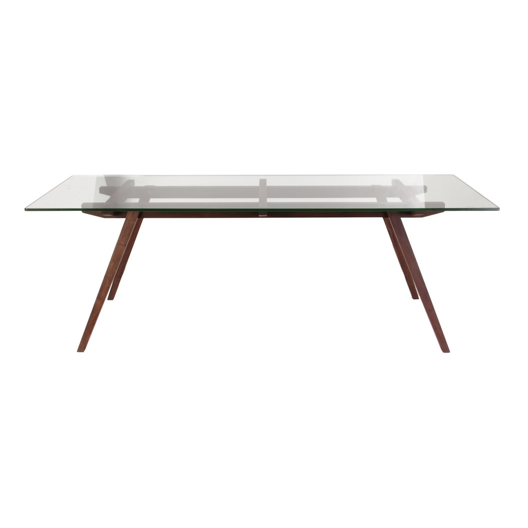 stockholm walnut wood dining table 5