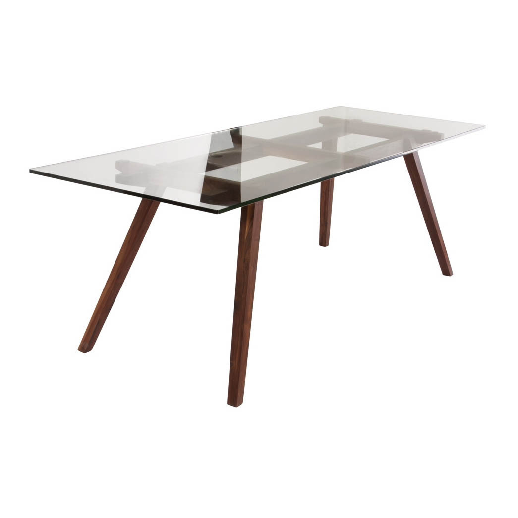 stockholm walnut wood dining table 6