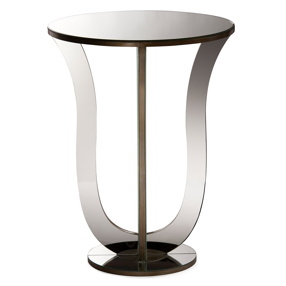 swan mirror end table 2