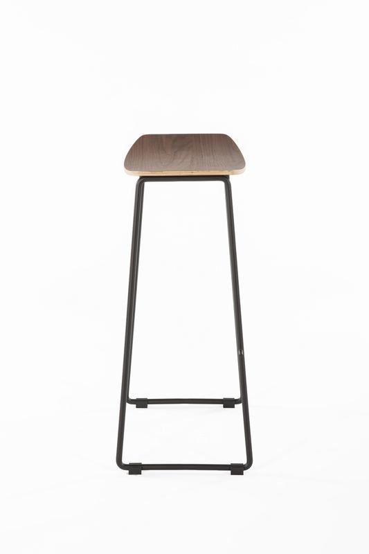 wood bend bar stool