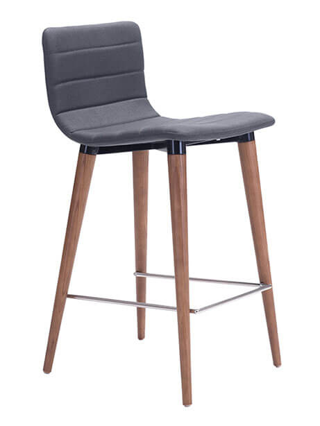 Fabric barstool