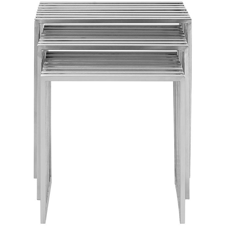 brickell steel nesting table set 3