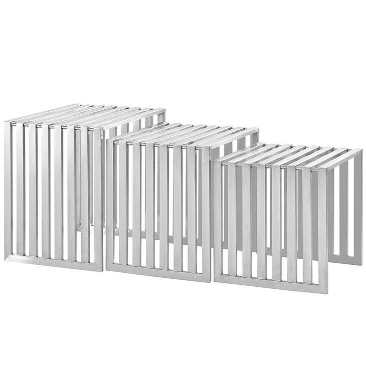brickell steel nesting table set 4