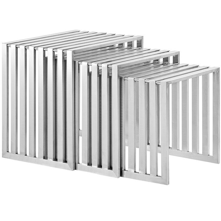 brickell steel nesting table set