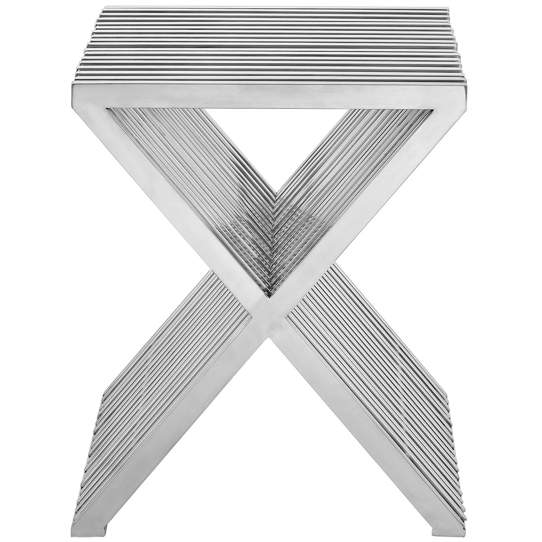 chrome x side table 2