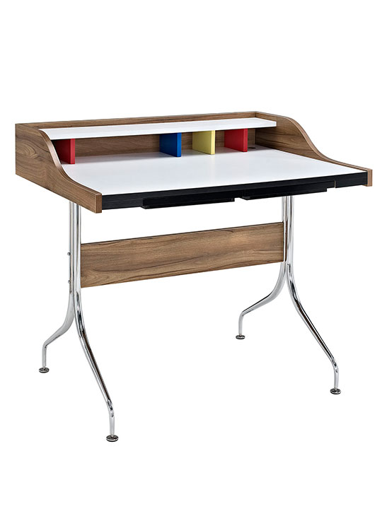 color stream mid century desk