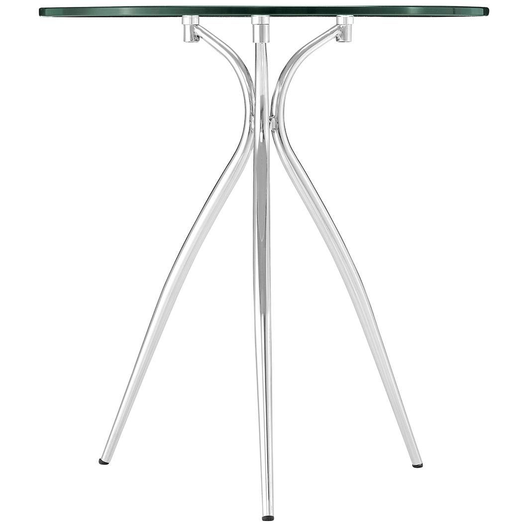 ultra glass chrome side table 3