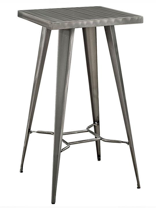 Bento metal bar table