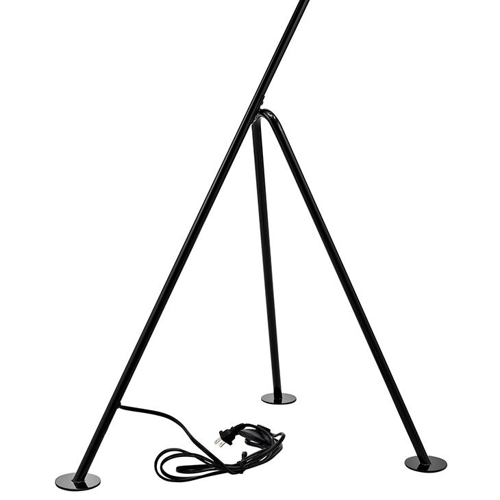 black retro floor lamp 2