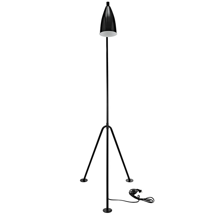 black retro floor lamp 3