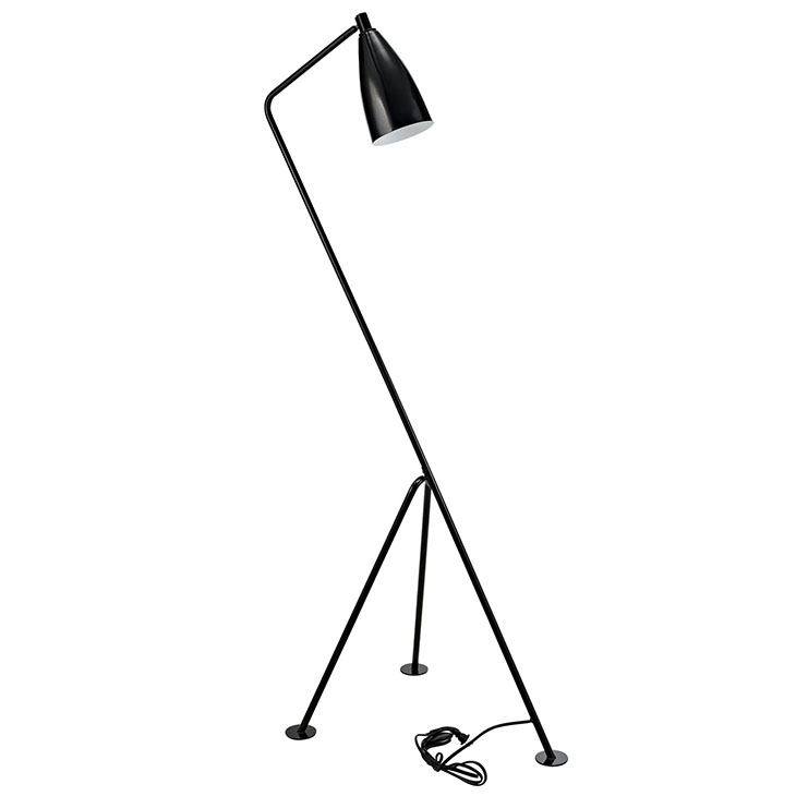 black retro floor lamp 4