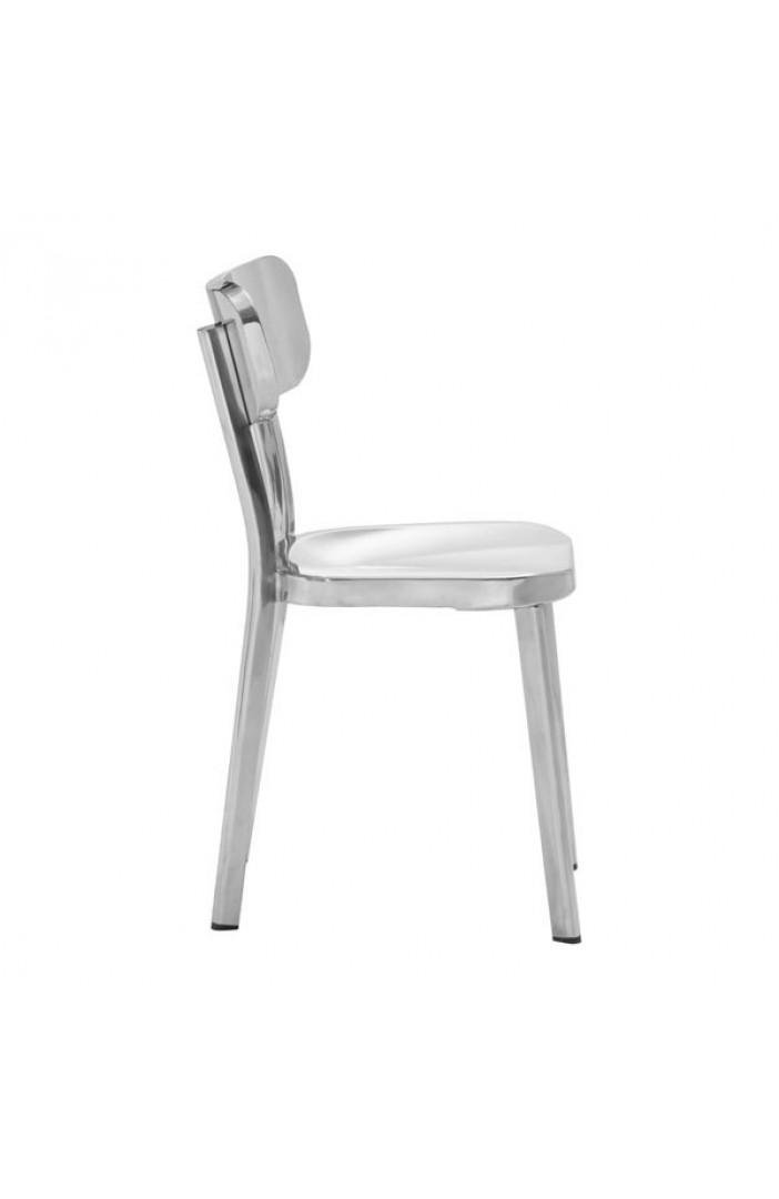 chiney chrome chair