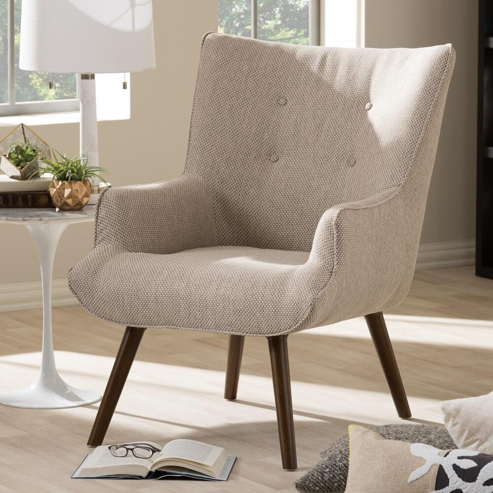 habitat armchair beige 5