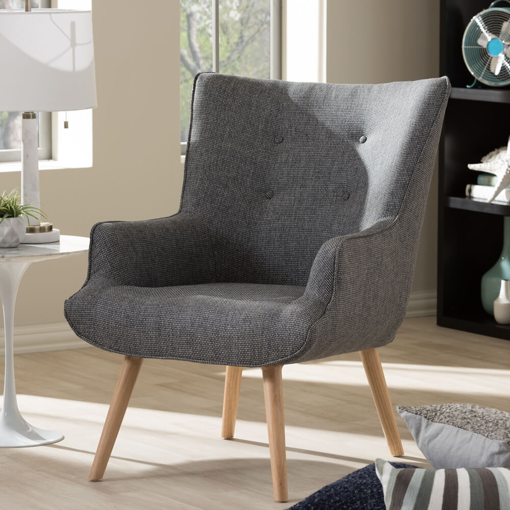 Habitat Armchair Modern Furniture Brickell Collection
