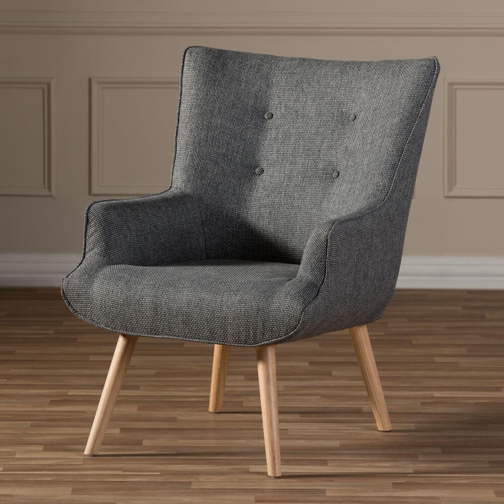 habitat armchair grey 8
