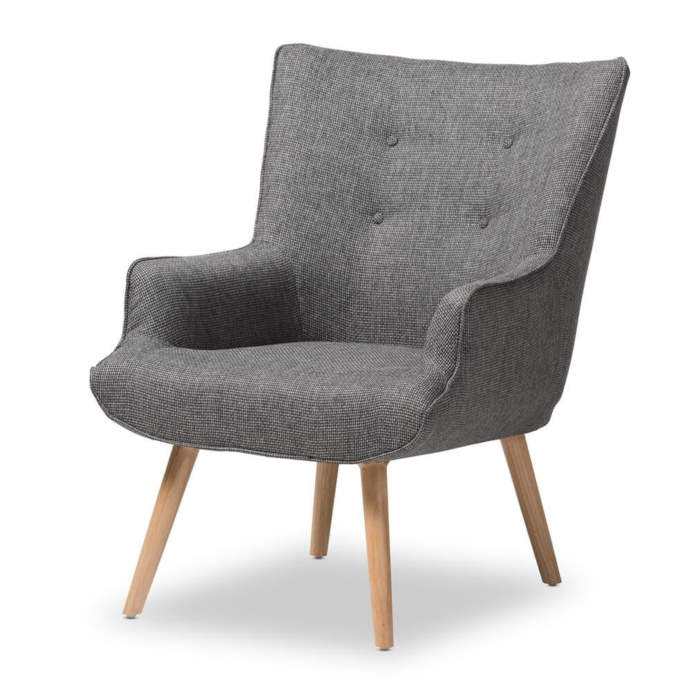 habitat armchair grey