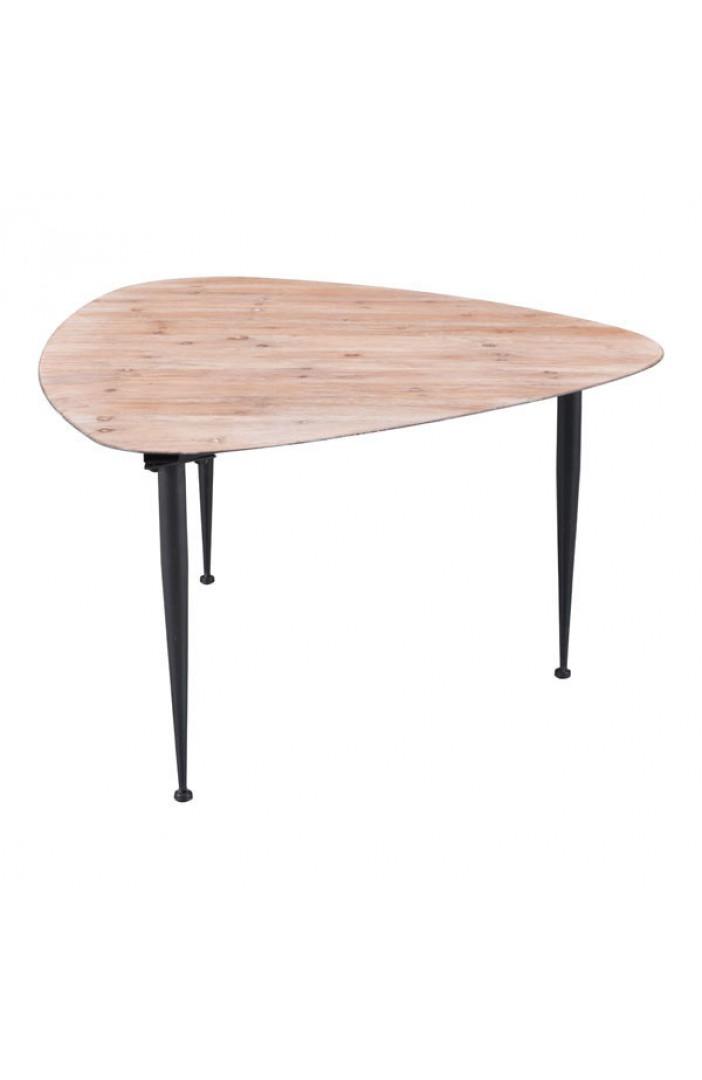 mid century pin leg coffee table
