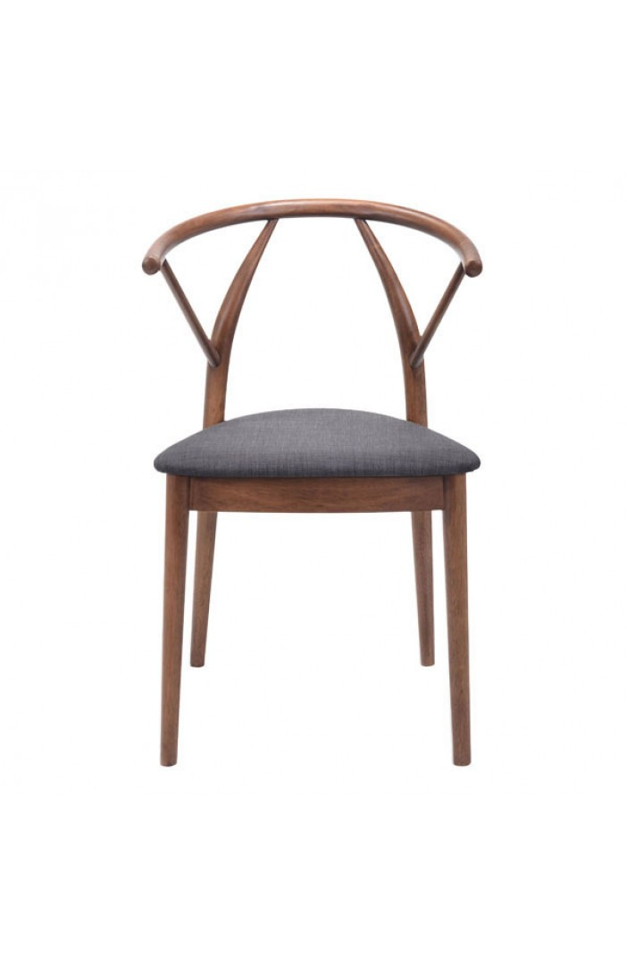 norwegian style wood chair