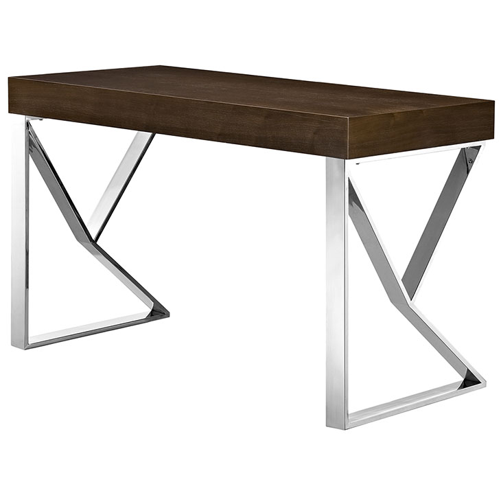 pinnacle walnut wood desk 3