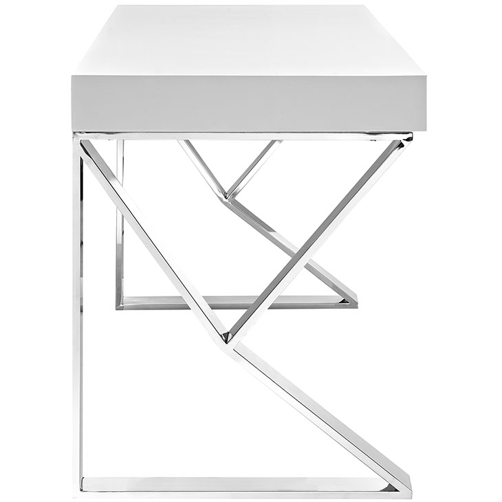 pinnacle white desk 2