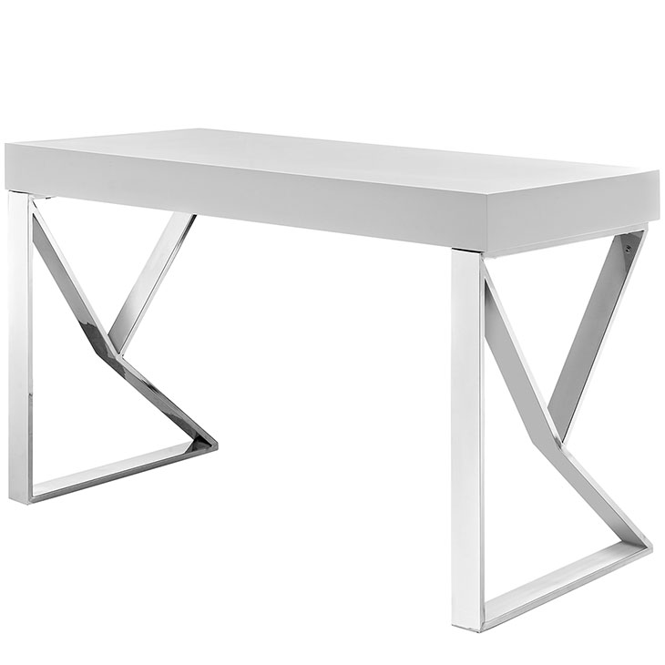 pinnacle white desk 3