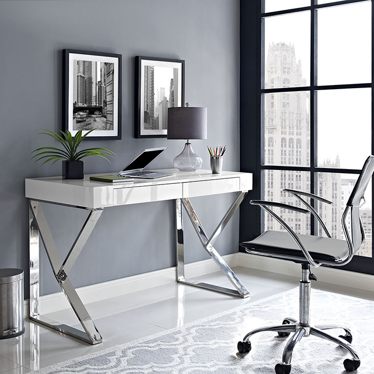 pinnacle white desk 4