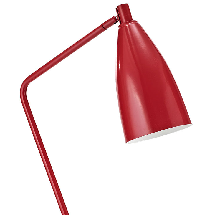 red retro floor lamp 2