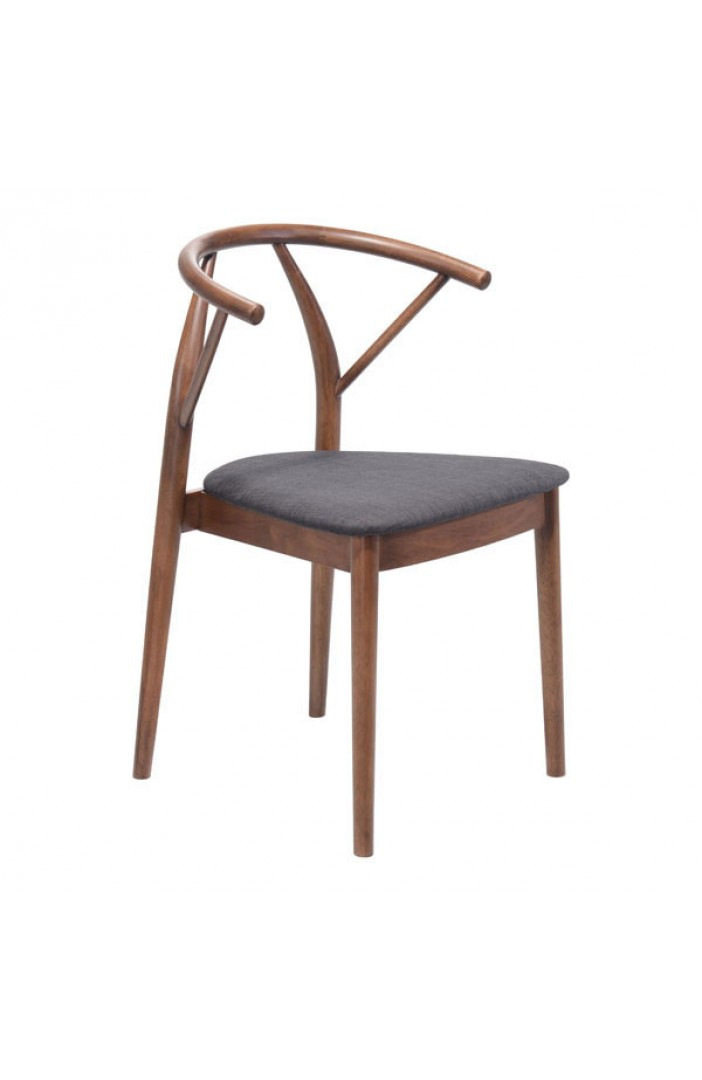 scandinavian wood chair set