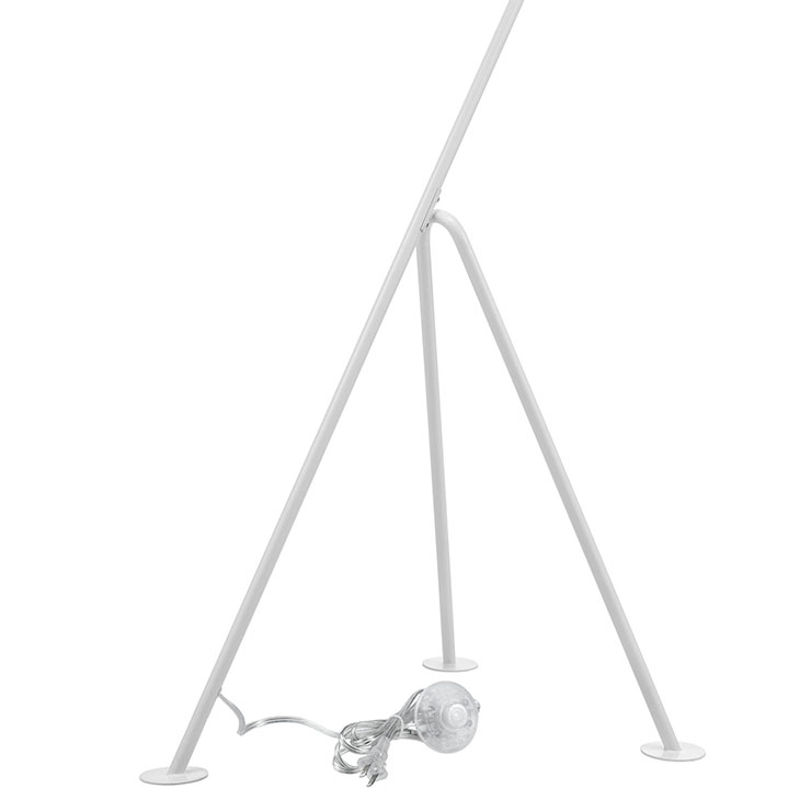 white retro floor lamp 3