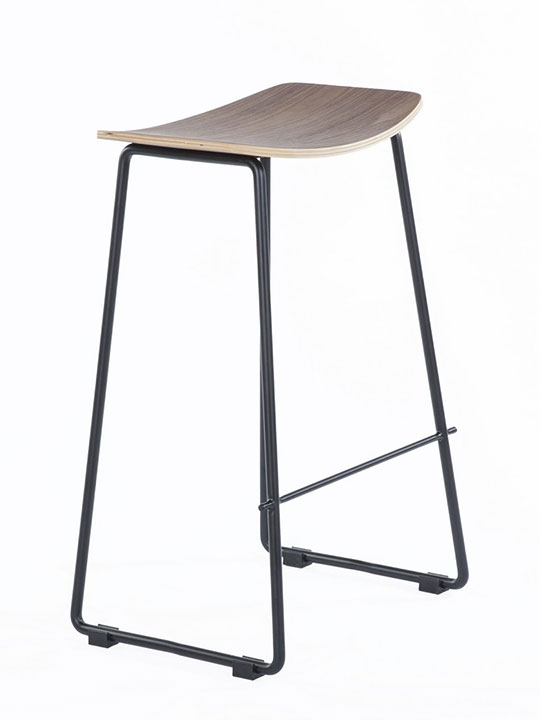bent wood counter stool