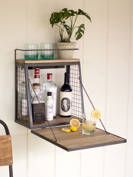 wood wire wall cabinet