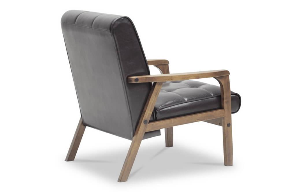 black teleporter armchair 2