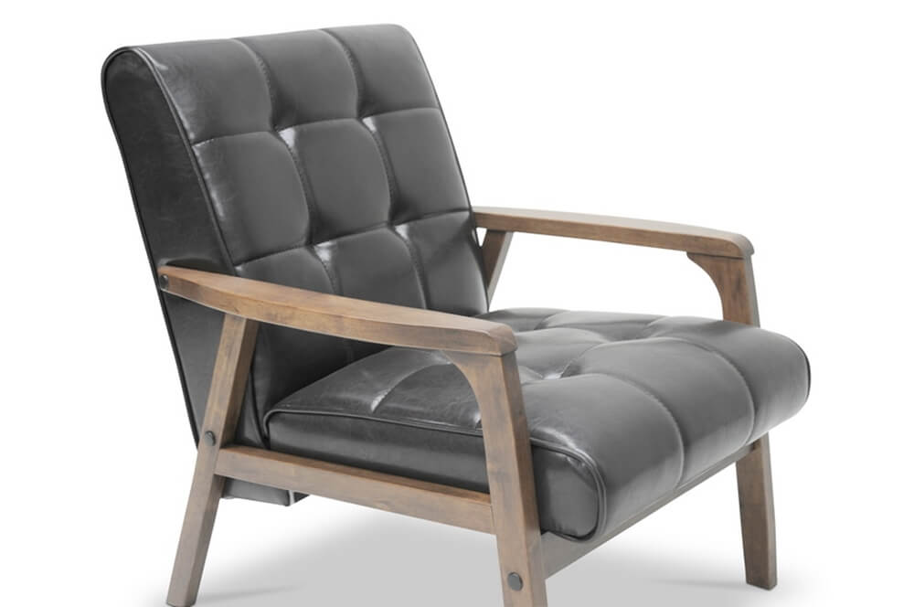 black teleporter armchair 3