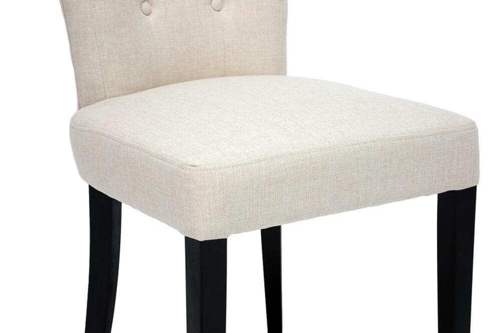 honor beige plush chair
