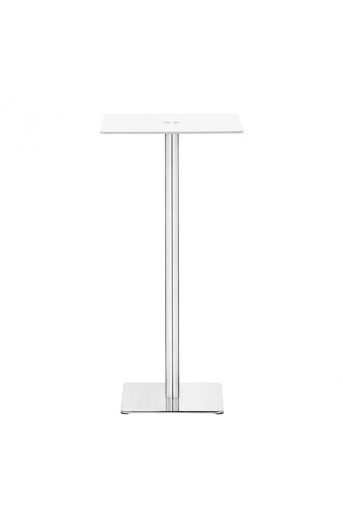 white square glass bar table 2